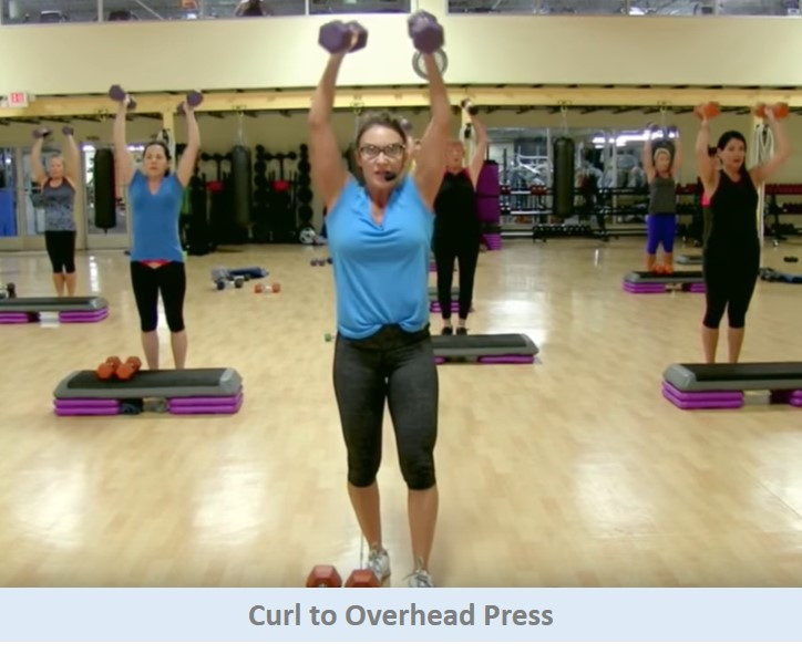 Curl to Overhead Press