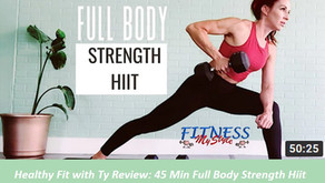 Healthy Fit with Ty Review: 45 Min Full Body Strength Hiit w Dumbbell Supersets