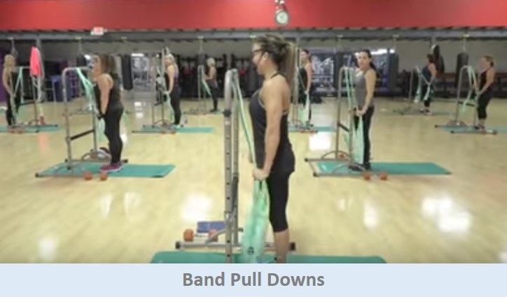 Band Pull Downs
