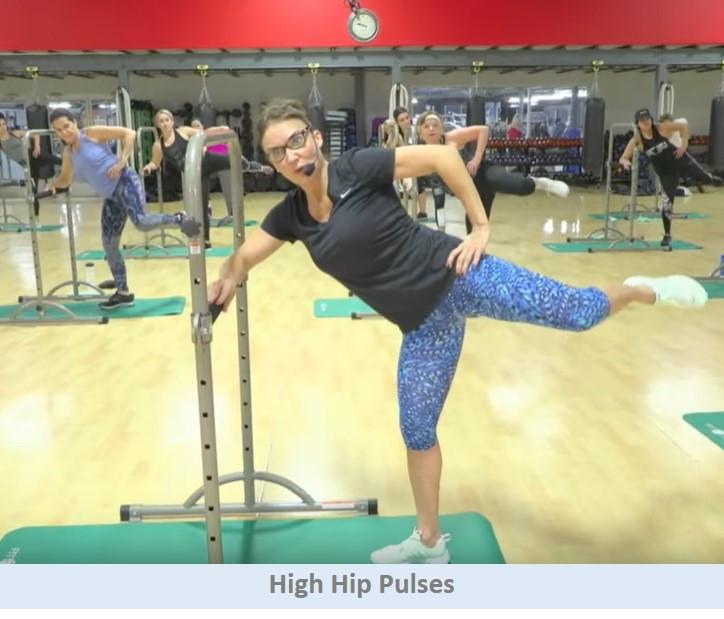 High hip pulses