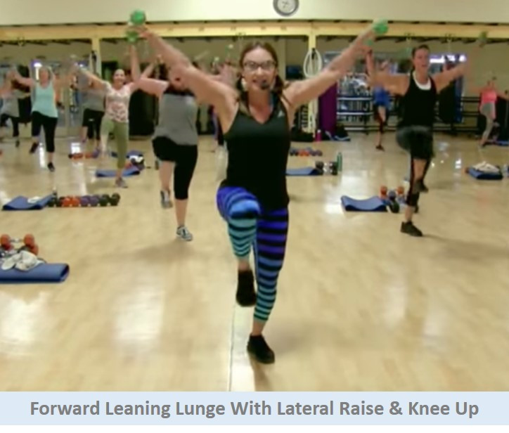 Forward Leaning Lunge