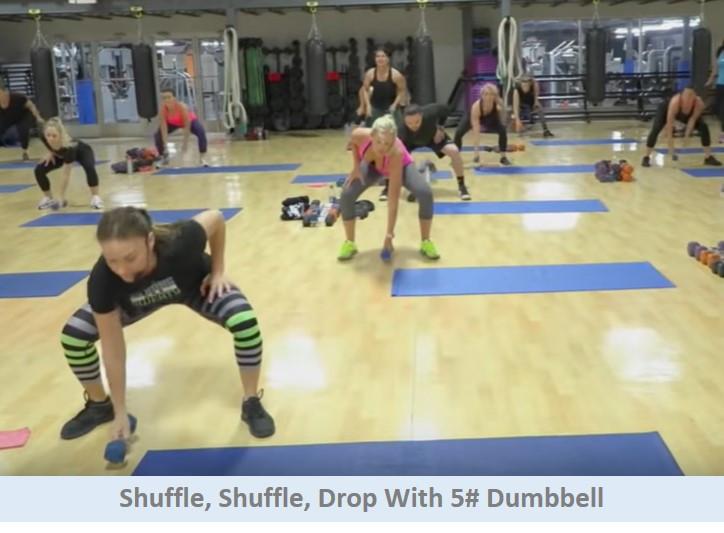 Shuffle shuffle drop