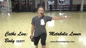 Cathe Live Review: Metabolic Lower Body (#317)