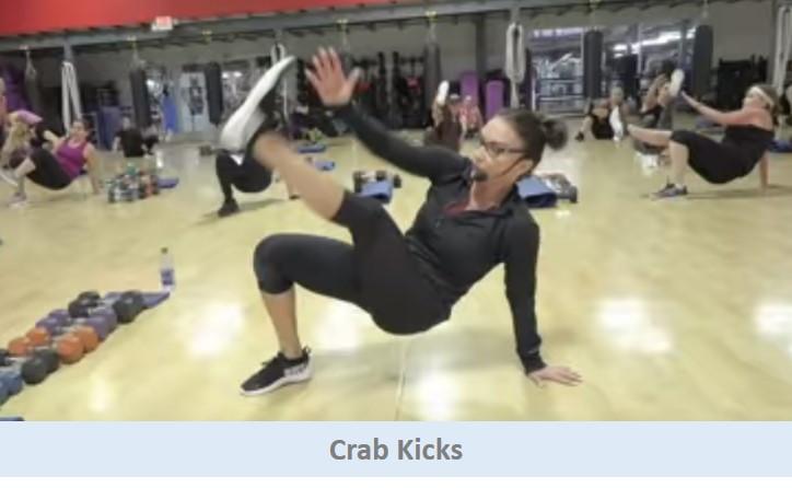 Crab kicks