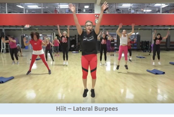 Hiit - Lateral Burpees