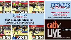 Cathe Live Rotation #2 – Cardio & Weights Focus