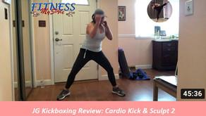JG Kickboxing Review: Cardio Kick & Sculpt 2