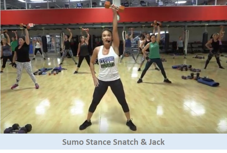 Sumo Stance Snatch & Jack
