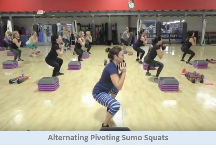 Alternating Pivoting Sumo Squats