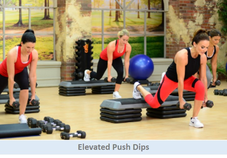 Elevated Push Dips