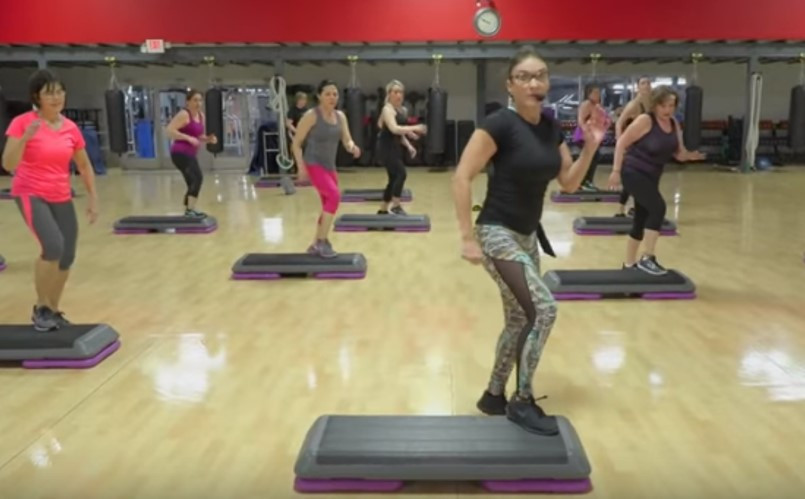 Cathe Live: Advanced Step Choreography