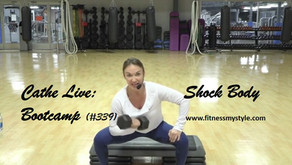 Cathe Live Review: Shock Body Bootcamp (#339)