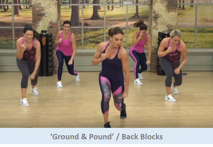 Ground & Pound / Back Blocks