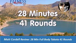 Matt Cordell Review: 28 Min Full Body Tabata 41 Rounds