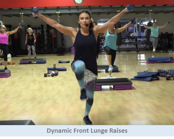 Dynamic Front Lunges
