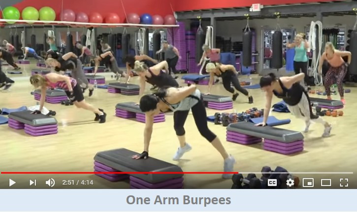 One Arm Burpees