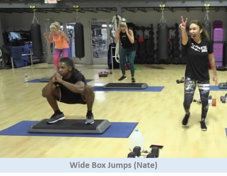 Wide Box Jumps