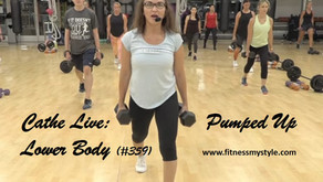 Cathe Live Review: Pumped Up Lower Body (#359)