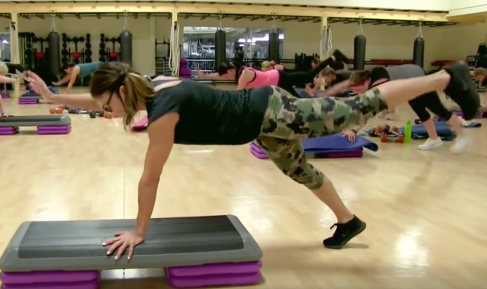 Cathe Live: Step Blasts Plus Weights