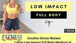 Caroline Girvan Review: 1 Hour Low Impact Full Body Workout at Home | Bodyweight Only