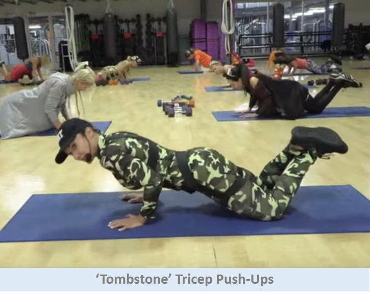 Tombstone Tricep Push-Ups