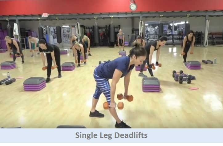 Single Leg Deadlifts