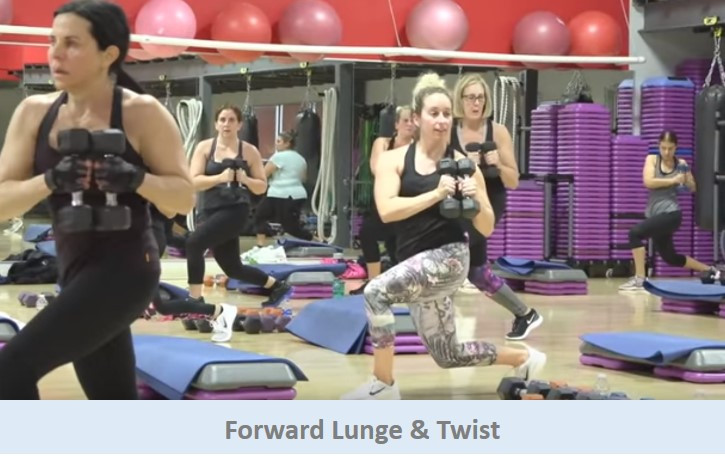 Forward Lunge & Twist