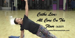 Cathe Live Review: All Core On The Floor (#307)