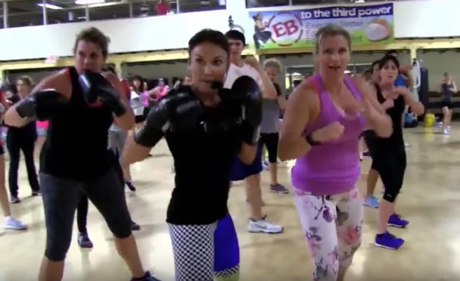 Cathe Live: 2015 RT Kickboxing Class