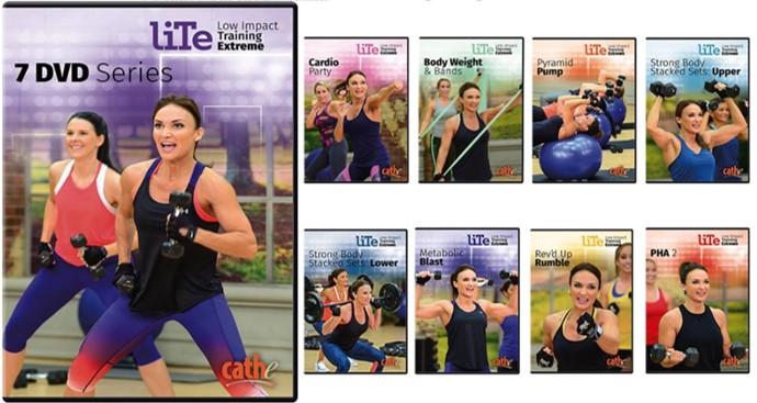 Cathe's New LITE Series