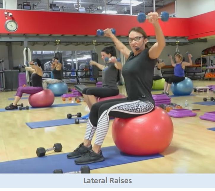 lateral raises