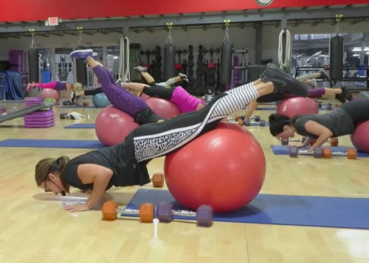 Cathe Live: Total Body Blast w Step & Ball