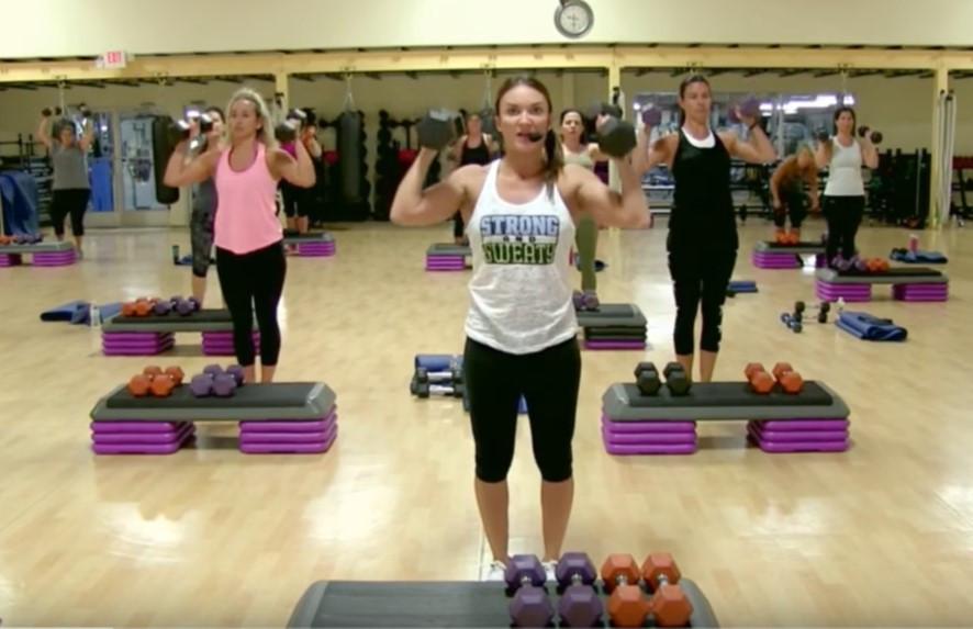 Cathe Live: Buff Upper Body