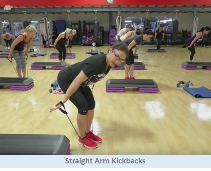 Straight Arm Kickbacks