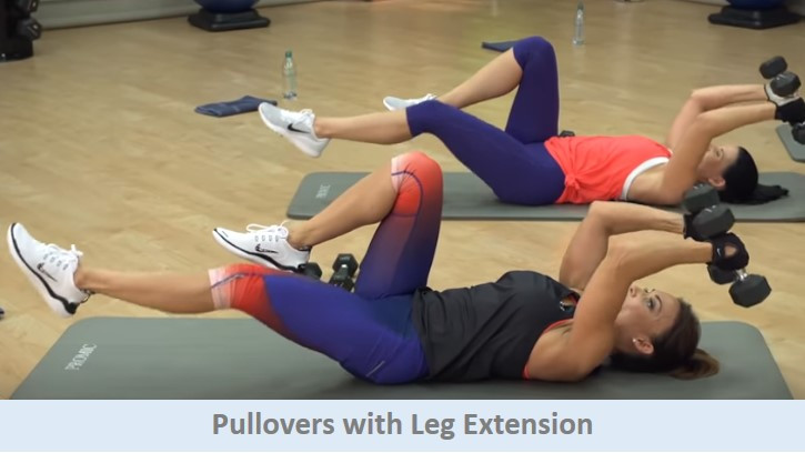 Pullovers with leg Extension