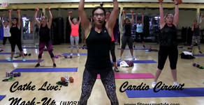Cathe Live Review: Cardio Circuit Mash-Up (#103)