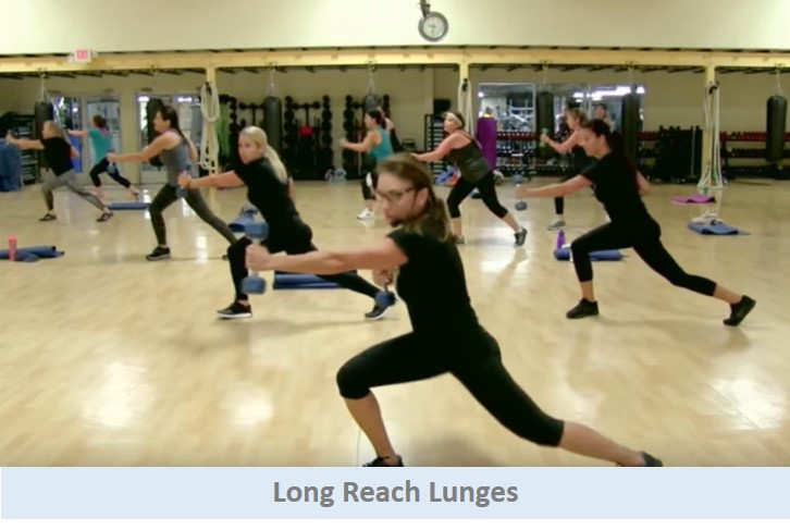Long Reach Lunges