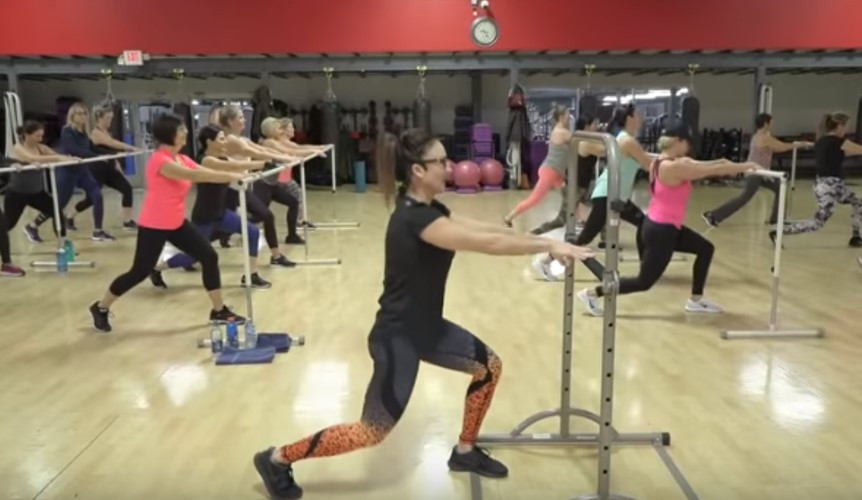 Cathe Live: Lower Body Barre & Weights