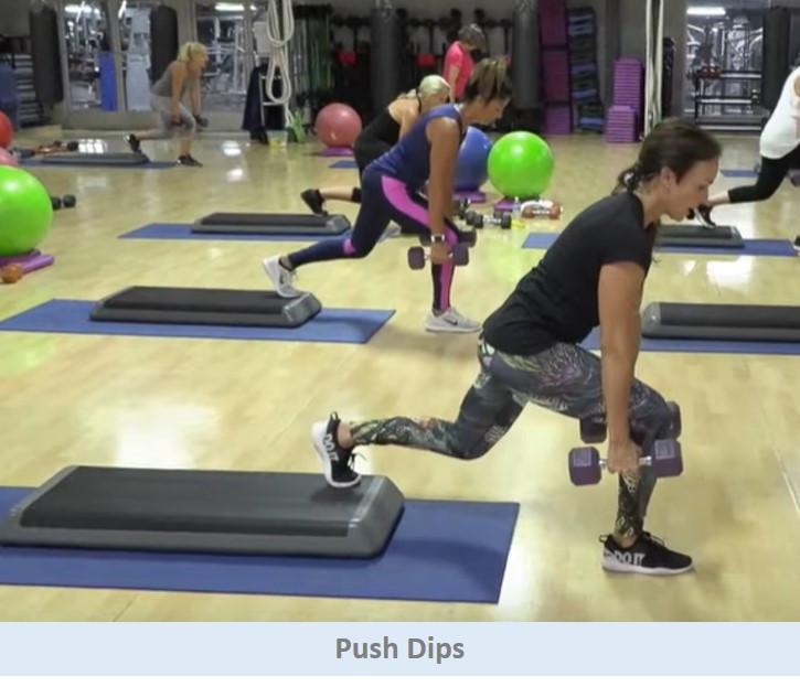 Push Dips