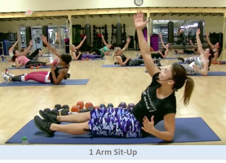 1 Arm Sit-Up