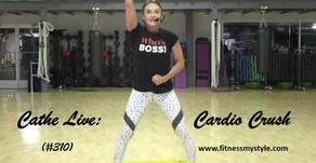 Cathe Live Review: Cardio Crush (#310)