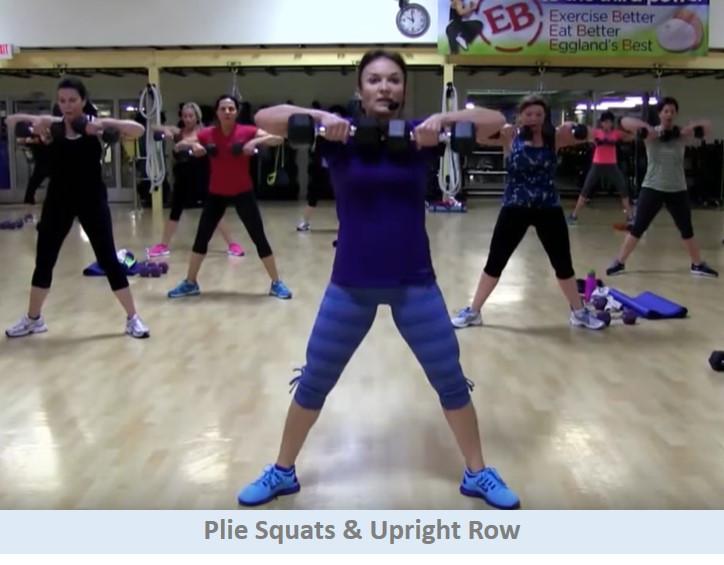Plie Squats & Upright Row