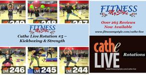 Cathe Live Rotation #5 – Kickboxing & Strength
