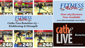 Cathe Live Rotation #5 – Kickboxing & Strength