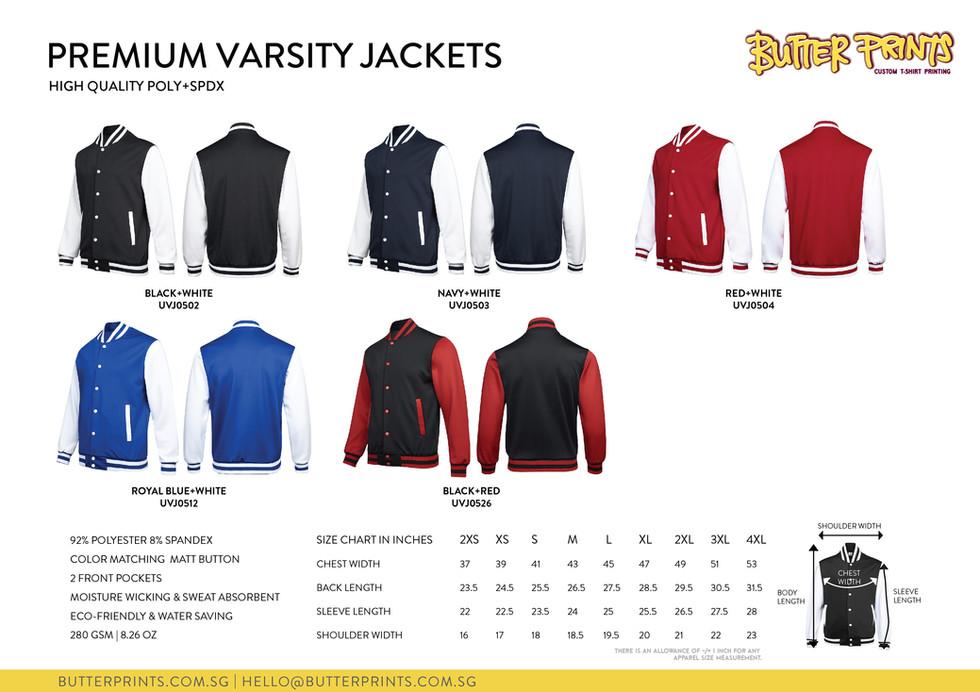 10. 2020 Varsity Jackets - Butter Prints