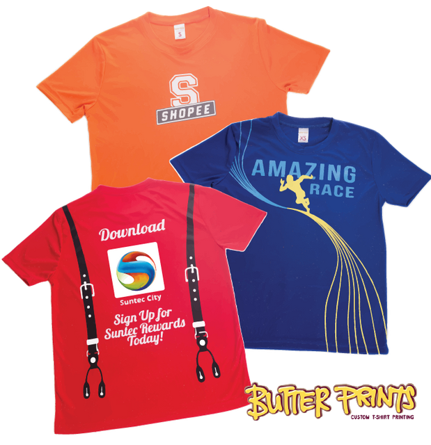 Smooth Interlock Drifit T-shirts
