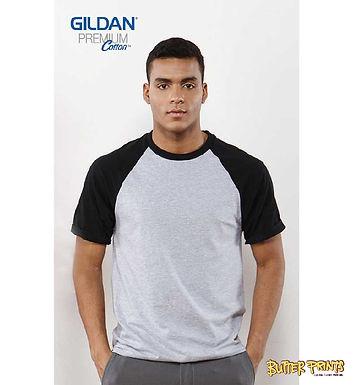 Gildan Adult Raglan Short Sleeved T-shirt 76500 (Cotton) - 180 gsm
