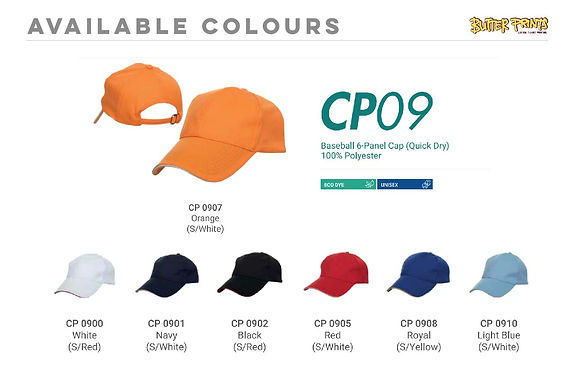 Drifit Caps 2-toned (CP09)