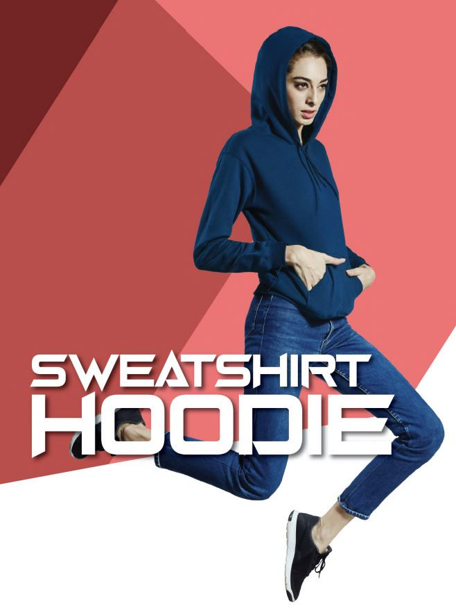 Sweatshirt Hoodie without Zip - Butter P
