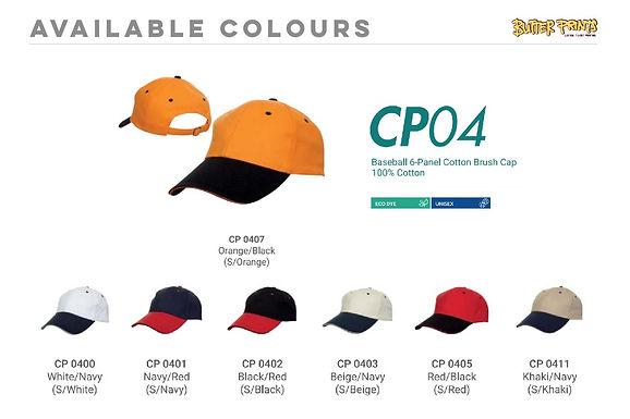 Cotton Caps 2-toned (CP04)